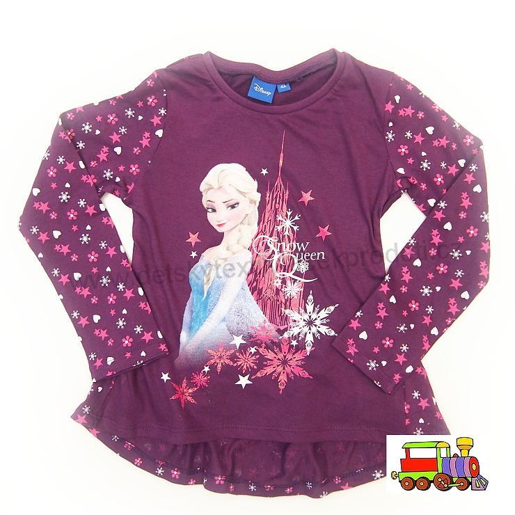 399b0b72c7cb Dívčí tričko Frozen-Ledové království-Elsa PH 1082 fialové vel.104 ...