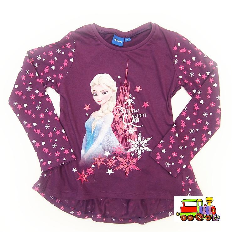 dd93b1af83b Dívčí tričko Frozen-Ledové království-Elsa PH 1082 fialové vel.104-110 empty