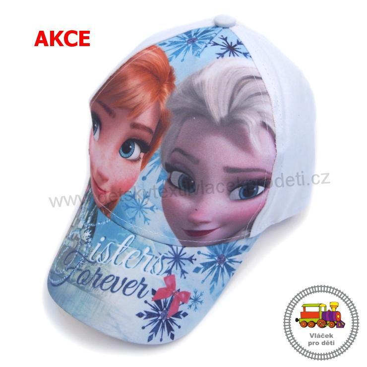 f7bd879099e AKCE-Kšiltovka dívčí Frozen-Ledové království-Elsa EP4036 bílá  č.87  vel.52