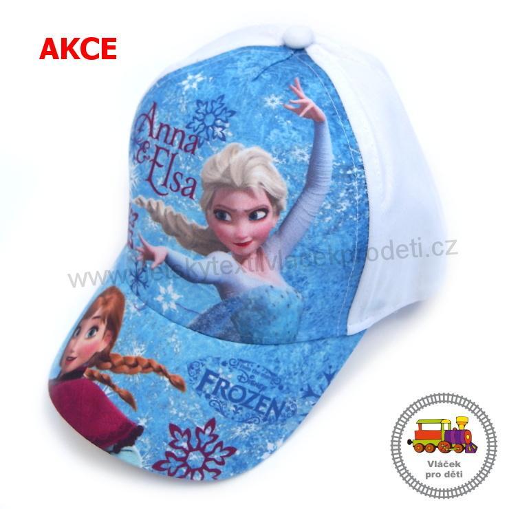 824f8e51abf AKCE-kšiltovka dívčí Frozen-Ledové království-Elsa EP4032 bílá  č.85  vel.52