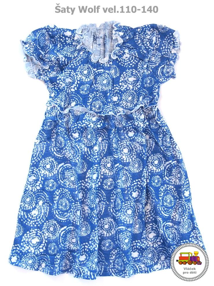 Dívčí šaty Wolf S2715 modré vel.122 empty 22d6c25dc1