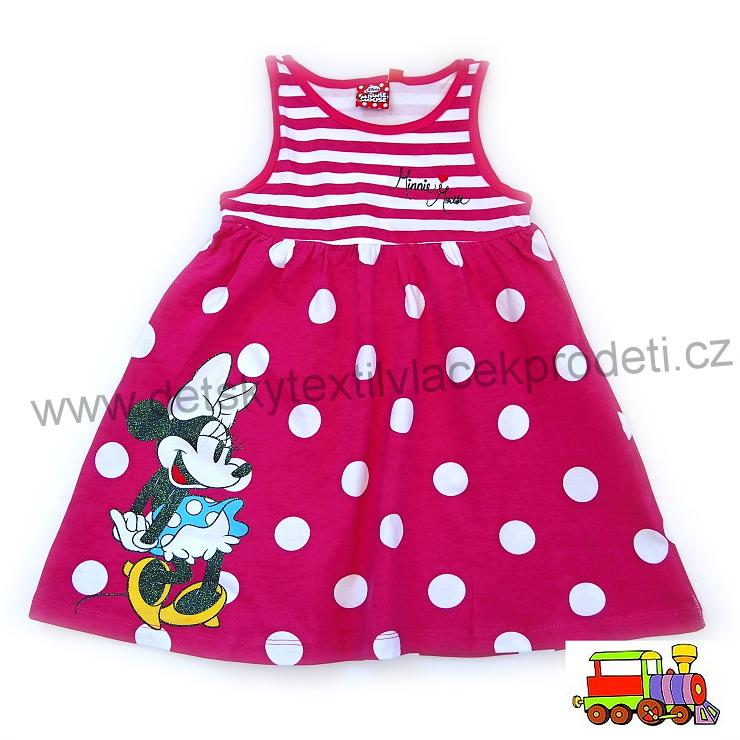 fbcd20e31f31 Šaty Minnie Mouse GDJ62082 růžové vel.122