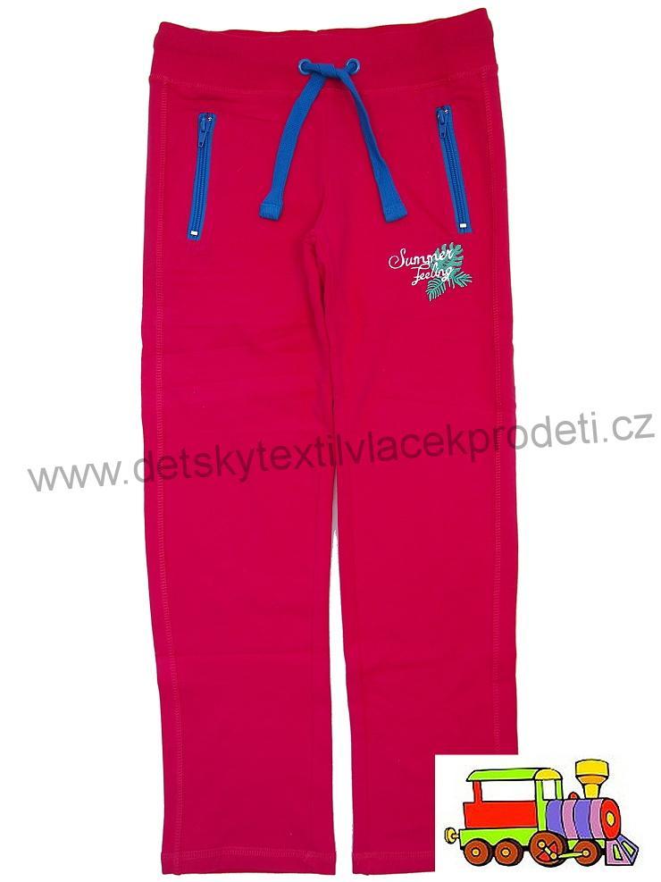 Dívčí tepláky Wolf T2681 růžové vel.146  a69955a2f0
