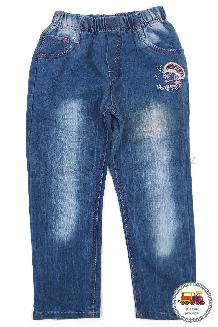 Kalhoty riflové džíny dívčí A231 vel.110  acc8f68a6a