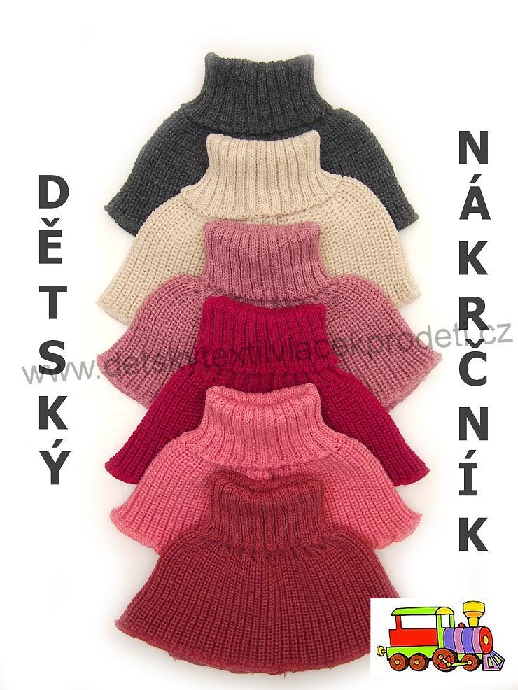 Dětský pletený nákrčník dívčí  3661043211