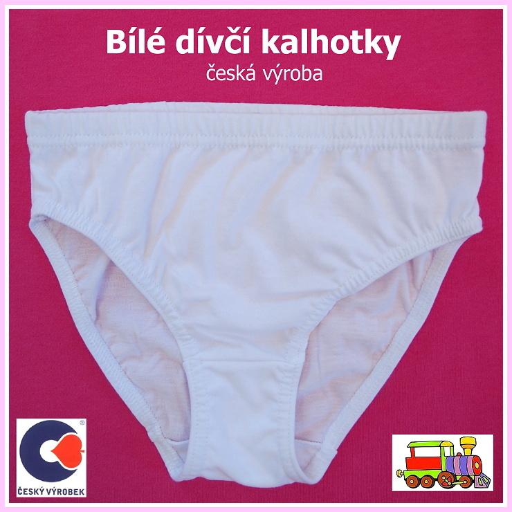 ad464b47306 Dívčí kalhotky bílé Míša vel.158 (skutečná 146) empty
