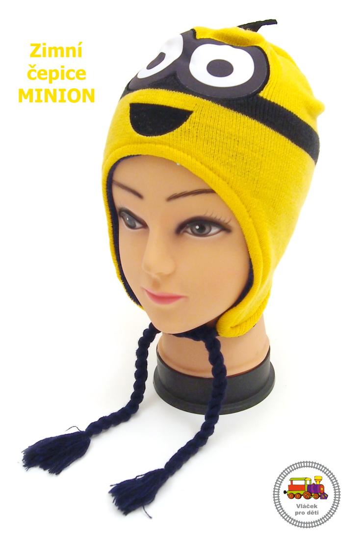 SLEVA-Zimní čepice Mimoň-Minion-Já 65af6fea19