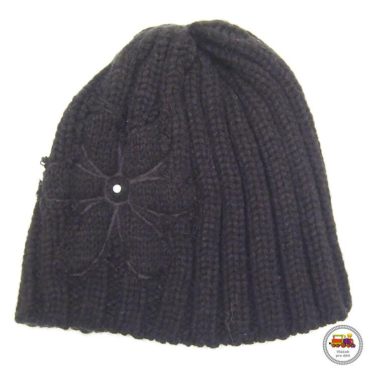 SLEVA-čepice zimní dívčí pletená  556  černá vel. b02d55d0c7