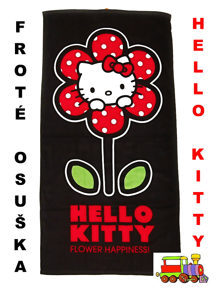 Osuška Hello Kitty 820-172 froté 70x140cm